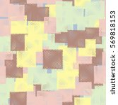 seamless pattern. stylized... | Shutterstock .eps vector #569818153