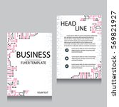 vector brochure flyer design