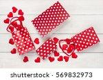 happy valentine's day greeting... | Shutterstock . vector #569832973