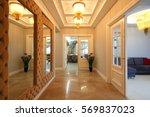 home entrance  | Shutterstock . vector #569837023