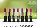 vector illustration of set of...   Shutterstock .eps vector #569894233