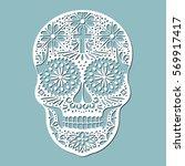 day of the dead  skull ...