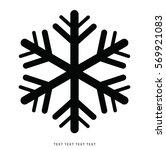 vector snowflakes set for...   Shutterstock .eps vector #569921083