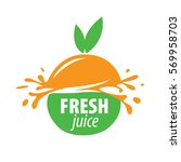 juice splash vector sign | Shutterstock .eps vector #569958703