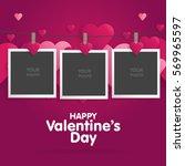 Postcard Happy Valentines Day...