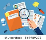 human resources management... | Shutterstock .eps vector #569989273