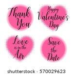 text calligraphy vector... | Shutterstock .eps vector #570029623