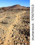 Path In Namibian Mountain