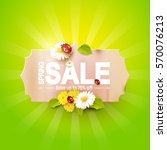 Spring Sale Flyer   Paper Labe...
