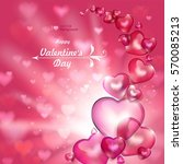 valentine's day. abstract...   Shutterstock .eps vector #570085213