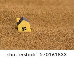 Miniature Toy House In The Dry...