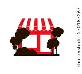 shop store symbol | Shutterstock .eps vector #570187267