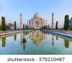 taj mahal in india | Shutterstock . vector #570210487