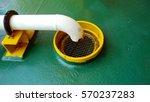 drain port to closed drain sump ... | Shutterstock . vector #570237283