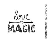 Design lettering with a quote about love for Valentine s day. Young culture fashion art for t-shirt emblem. Vector illustration