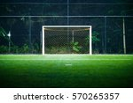 indoor football  soccer  field ... | Shutterstock . vector #570265357
