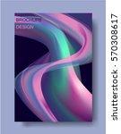 vector business flyer template... | Shutterstock .eps vector #570308617