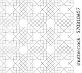 ethnic line islamic pattern....   Shutterstock .eps vector #570310657