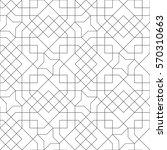 ethnic line islamic pattern....   Shutterstock .eps vector #570310663