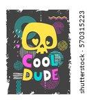 illustration in pop art style... | Shutterstock .eps vector #570315223