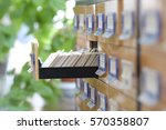 the image of library catalog | Shutterstock . vector #570358807