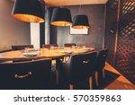 Interior Of Restaurant With Bi...