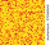 pixel mosaic seamless pattern... | Shutterstock .eps vector #570360643