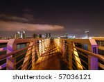 San Diego Harbor At Night From...