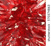 abstract 3d render    macro... | Shutterstock . vector #570374863