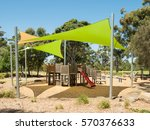 playground and picnic... | Shutterstock . vector #570376633