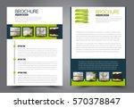 business brochure template.... | Shutterstock .eps vector #570378847
