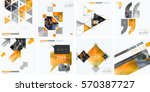 business vector design elements ... | Shutterstock .eps vector #570387727