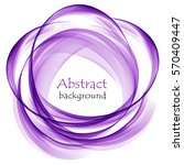 abstract background with purple ... | Shutterstock .eps vector #570409447