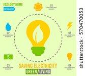 green living concept infographic | Shutterstock .eps vector #570470053