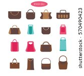 Various Trendy Women Bags With...