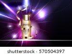 bb cream bottle template for... | Shutterstock .eps vector #570504397