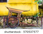 Small photo of Old traditional rickshaw in Hoi An, Vietnam