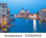 Canal Grande With Basilica...