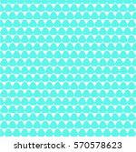 blue triangle pattern  white... | Shutterstock .eps vector #570578623