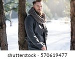 Fashion Man In Winter