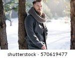 Fashion Man In Winter