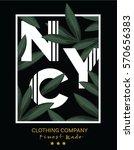 slogan vector print.for t shirt ... | Shutterstock .eps vector #570656383