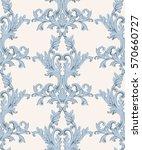 vintage baroque damask floral... | Shutterstock .eps vector #570660727