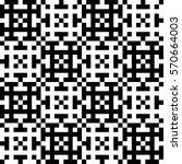 vector seamless pattern.... | Shutterstock .eps vector #570664003