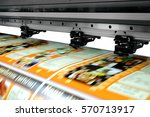 large printer format inkjet... | Shutterstock . vector #570713917