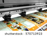 large printer format inkjet... | Shutterstock . vector #570713923