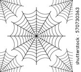 Halloween Spider Web   Black...