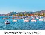 foca resort town near izmir ...   Shutterstock . vector #570742483