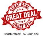 great deal. stamp. sticker....   Shutterstock .eps vector #570804523