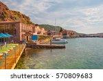 behramkale  assos  village... | Shutterstock . vector #570809683